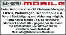 Brandenburger Wochenblatt Anzeige